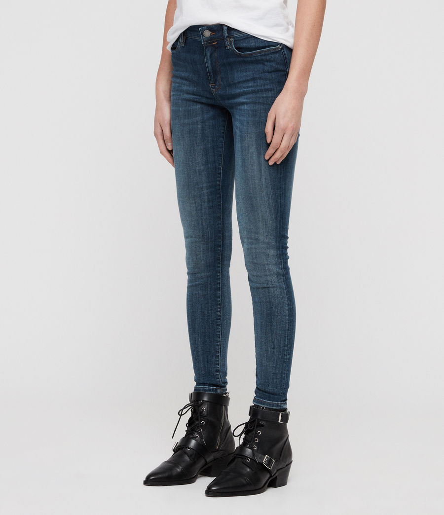 Womens Grace Skinny Jeans (washed_indigo) - Image 4