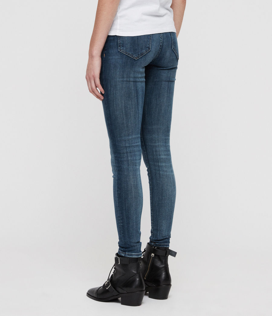 Womens Grace Skinny Jeans (washed_indigo) - Image 5