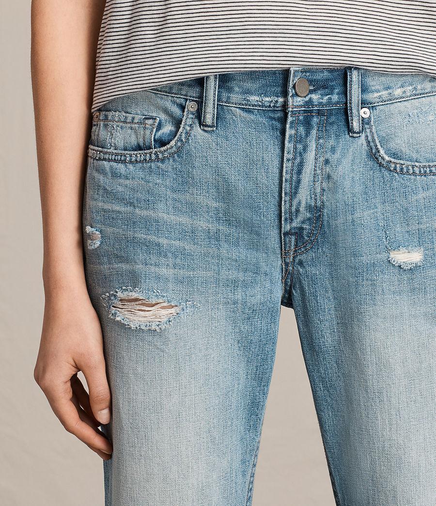 ALLSAINTS UK: Womens Serene Cropped Kick Flare Jeans ...