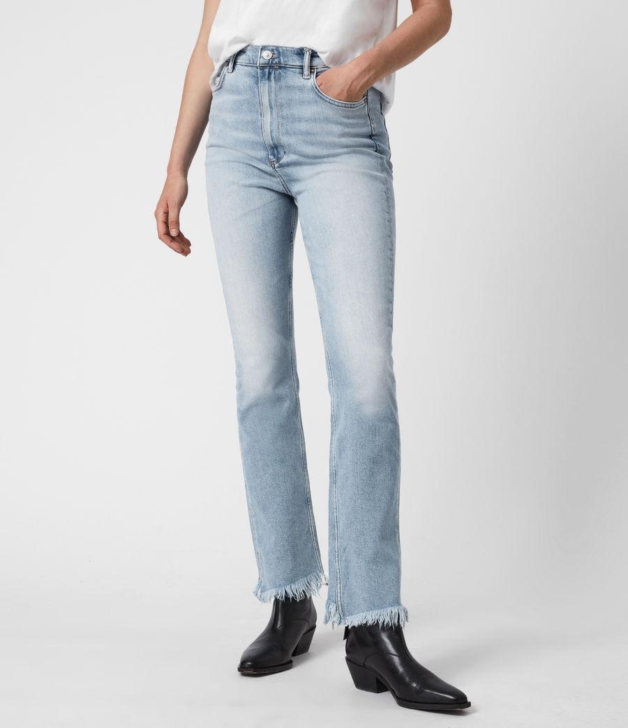 Damen Ciara High-Rise Bootcut Jeans, Light Indigo (light_indigo) - Image 1
