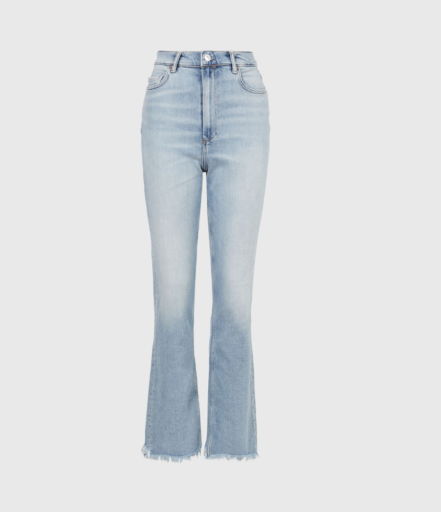 Damen Ciara High-Rise Bootcut Jeans, Light Indigo (light_indigo) - Image 2