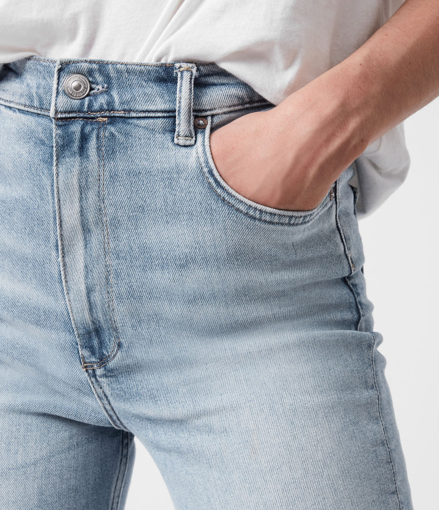 Damen Ciara High-Rise Bootcut Jeans, Light Indigo (light_indigo) - Image 4
