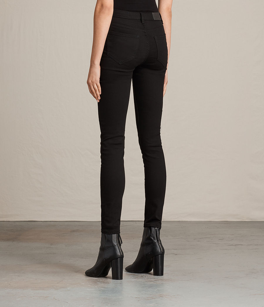 Mujer Vaqueros Stilt (jet_black) - Image 2
