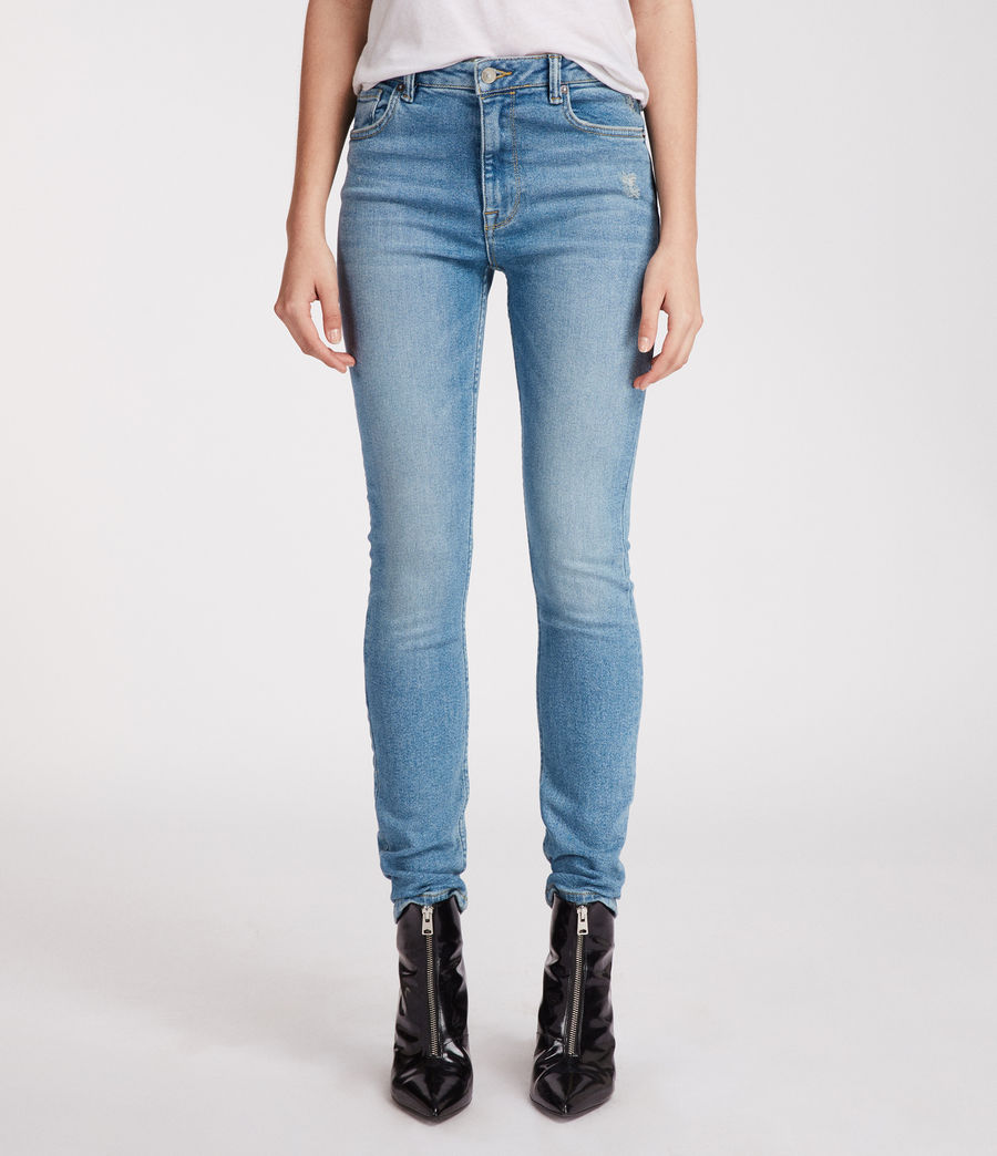 Stilt Vintage High Waisted Jeans by Allsaints