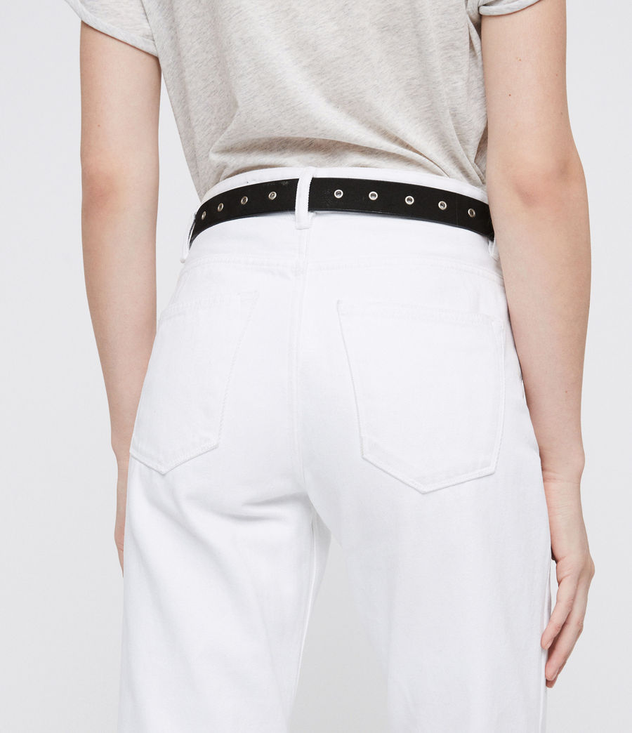 Donne Ava Straight Jeans (white) - Image 2