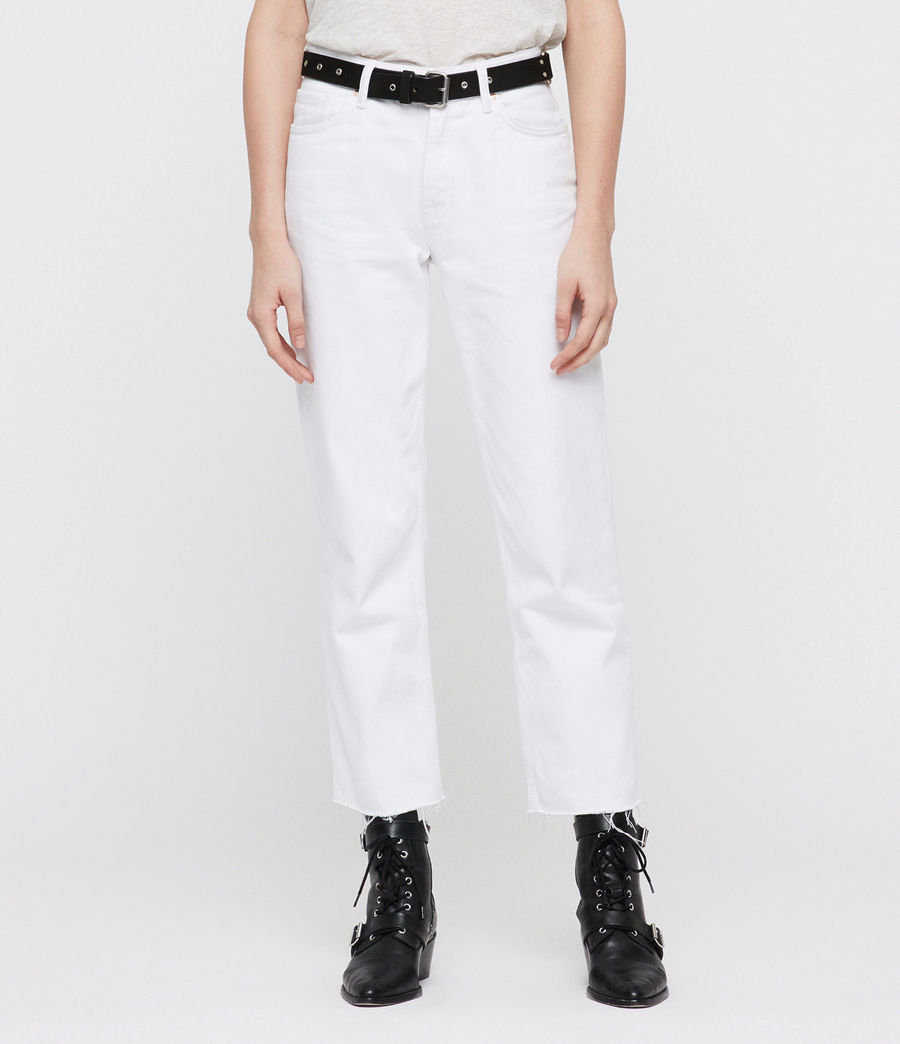 Donne Ava Straight Jeans (white) - Image 3