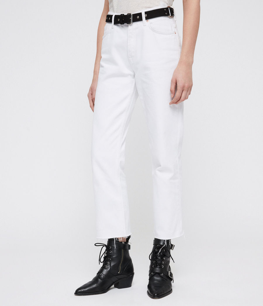 Donne Ava Straight Jeans (white) - Image 4