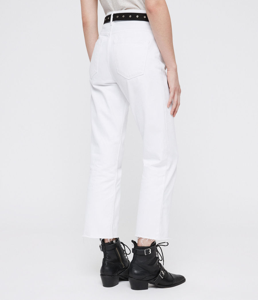 Donne Ava Straight Jeans (white) - Image 5