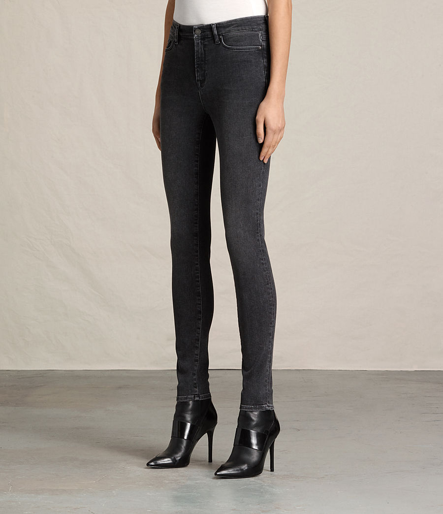 Womens Grace Jeans (washed_black) - Image 3
