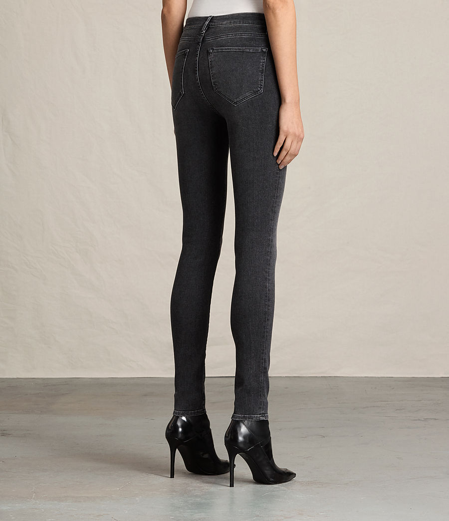 Womens Grace Jeans (washed_black) - Image 4