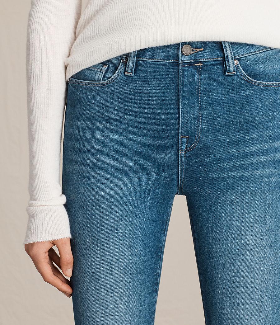 Women's Eve Ankle Jeans (vintage_indigo_blu) - Image 2
