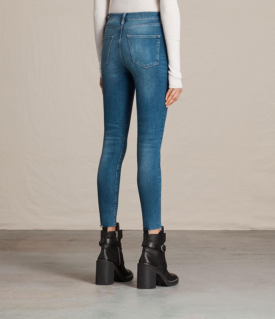 Women's Eve Ankle Jeans (vintage_indigo_blu) - Image 4