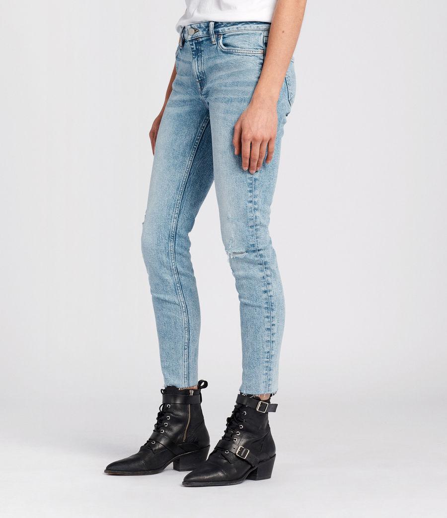 Women's Lola Cropped Jeans (light_indigo_blue) - Image 3