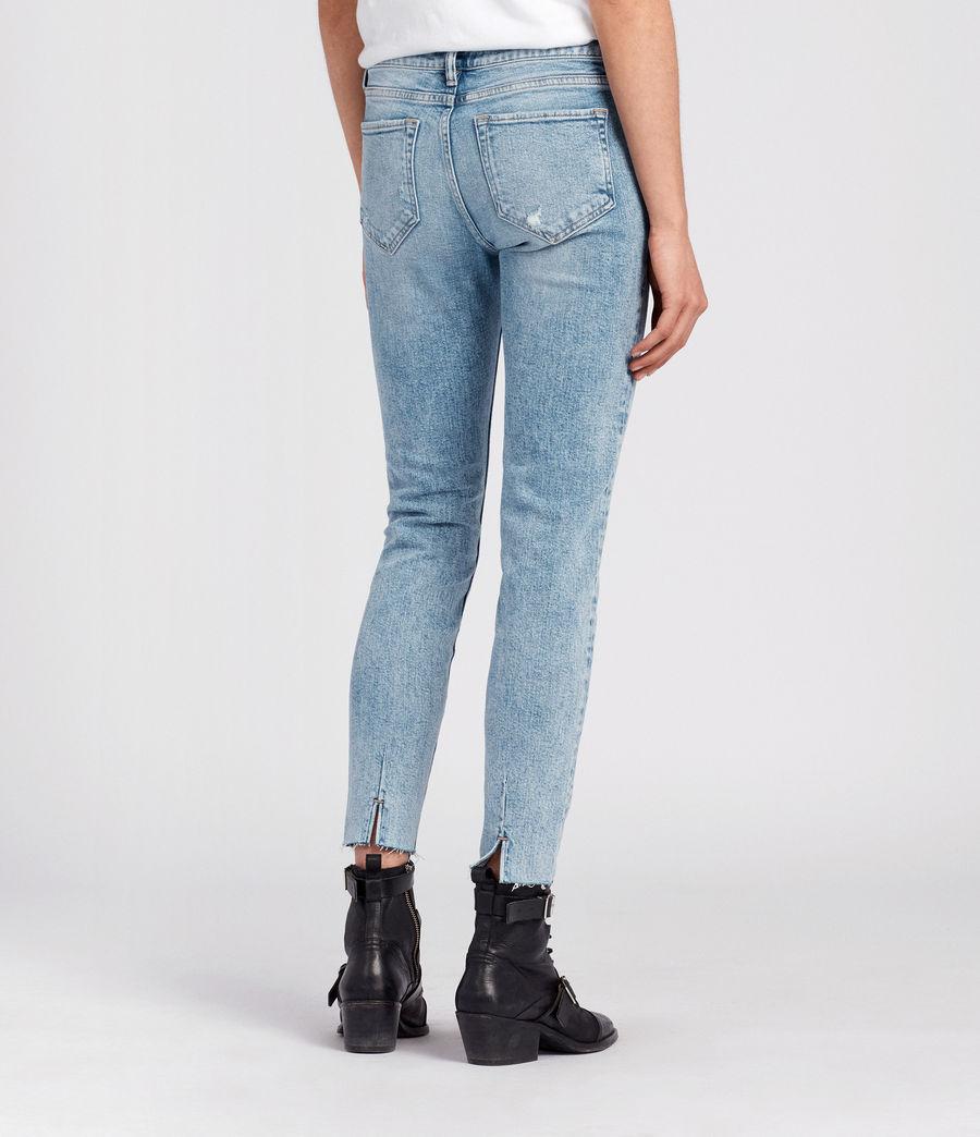 Women's Lola Cropped Jeans (light_indigo_blue) - Image 4