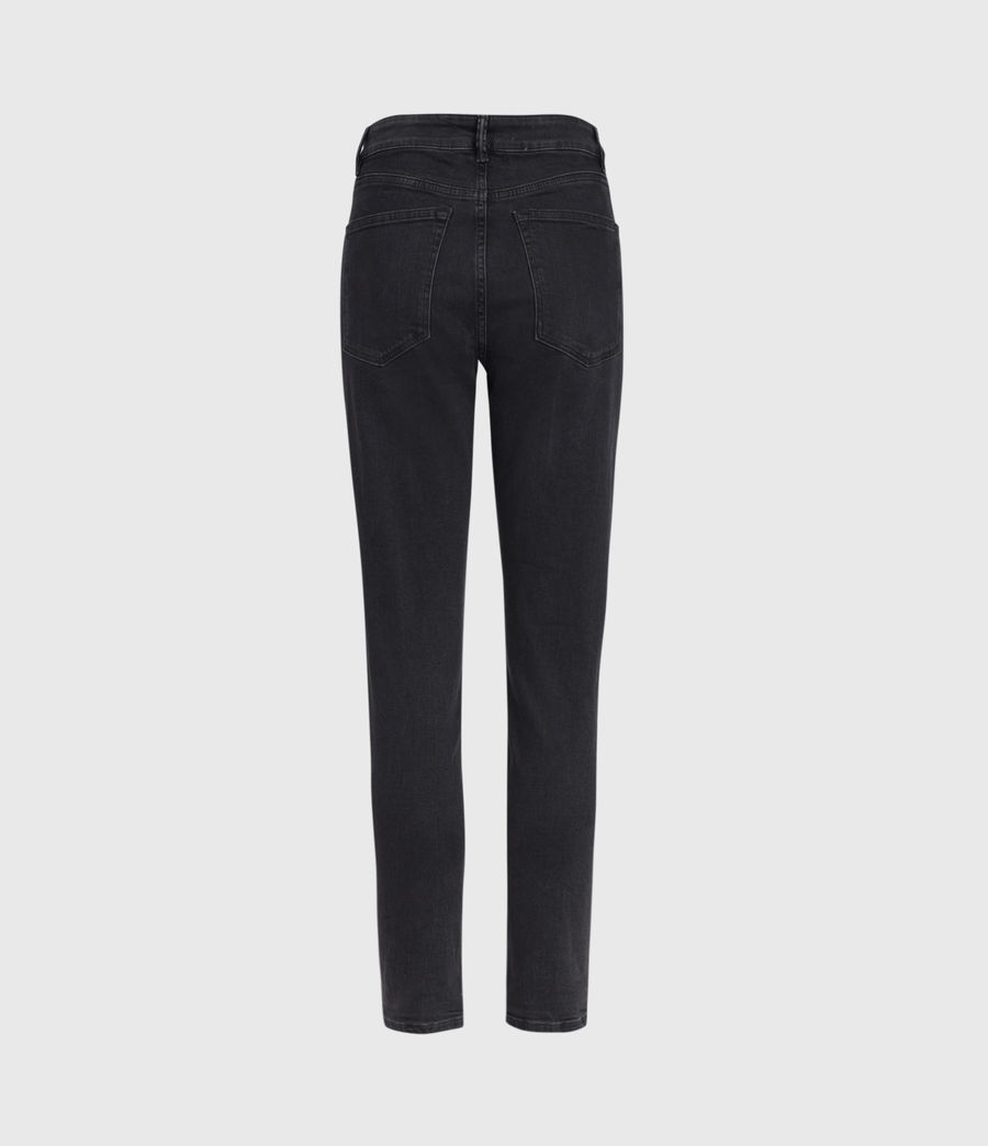 Women's Jules High-Rise Slim Jeans, Washed Black (washed_black) - Image 3