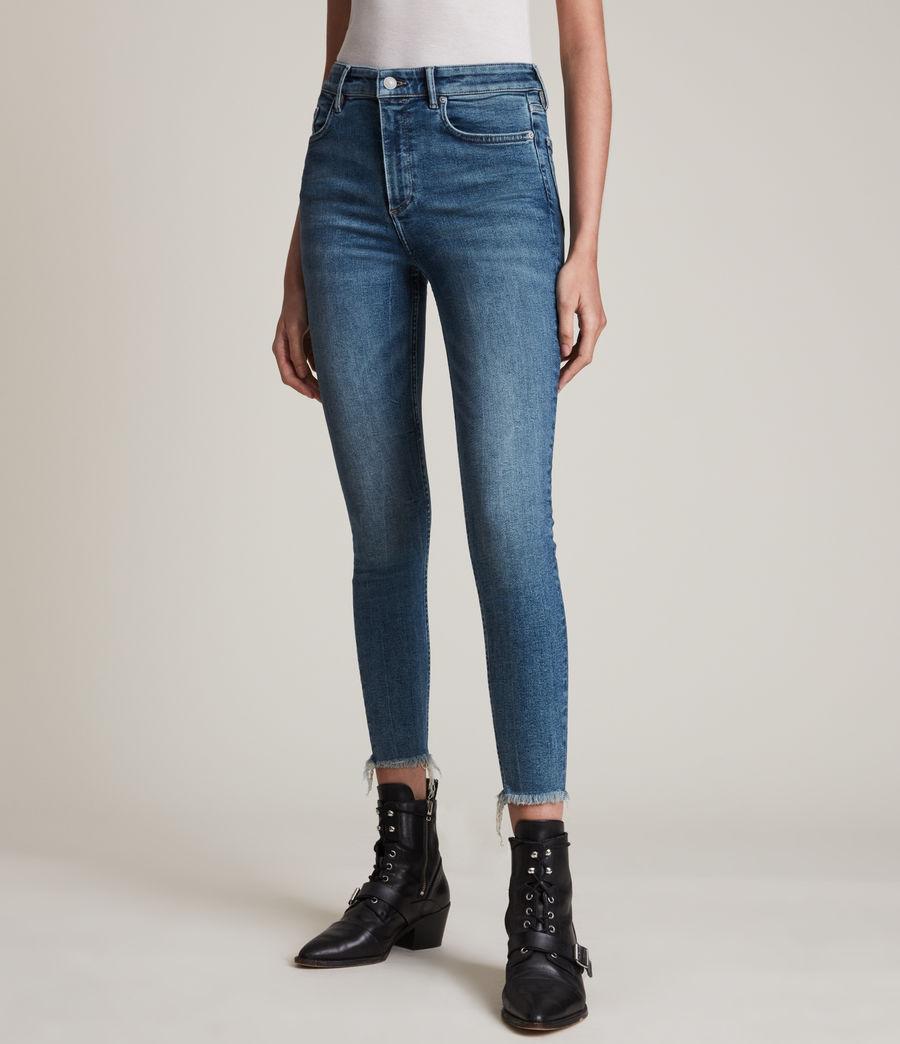 Women's Dax High-Rise Sizeme Superstretch Skinny Jeans (vintage_indigo) - Image 2