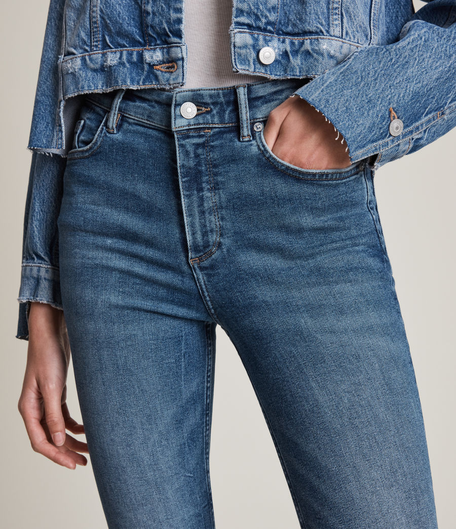 Women's Dax High-Rise Sizeme Superstretch Skinny Jeans (vintage_indigo) - Image 3