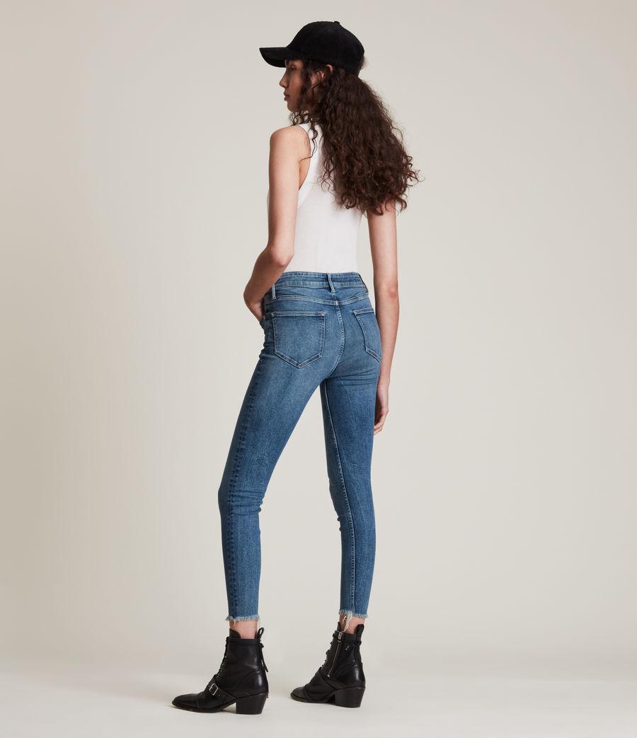 Women's Dax High-Rise Sizeme Superstretch Skinny Jeans (vintage_indigo) - Image 5
