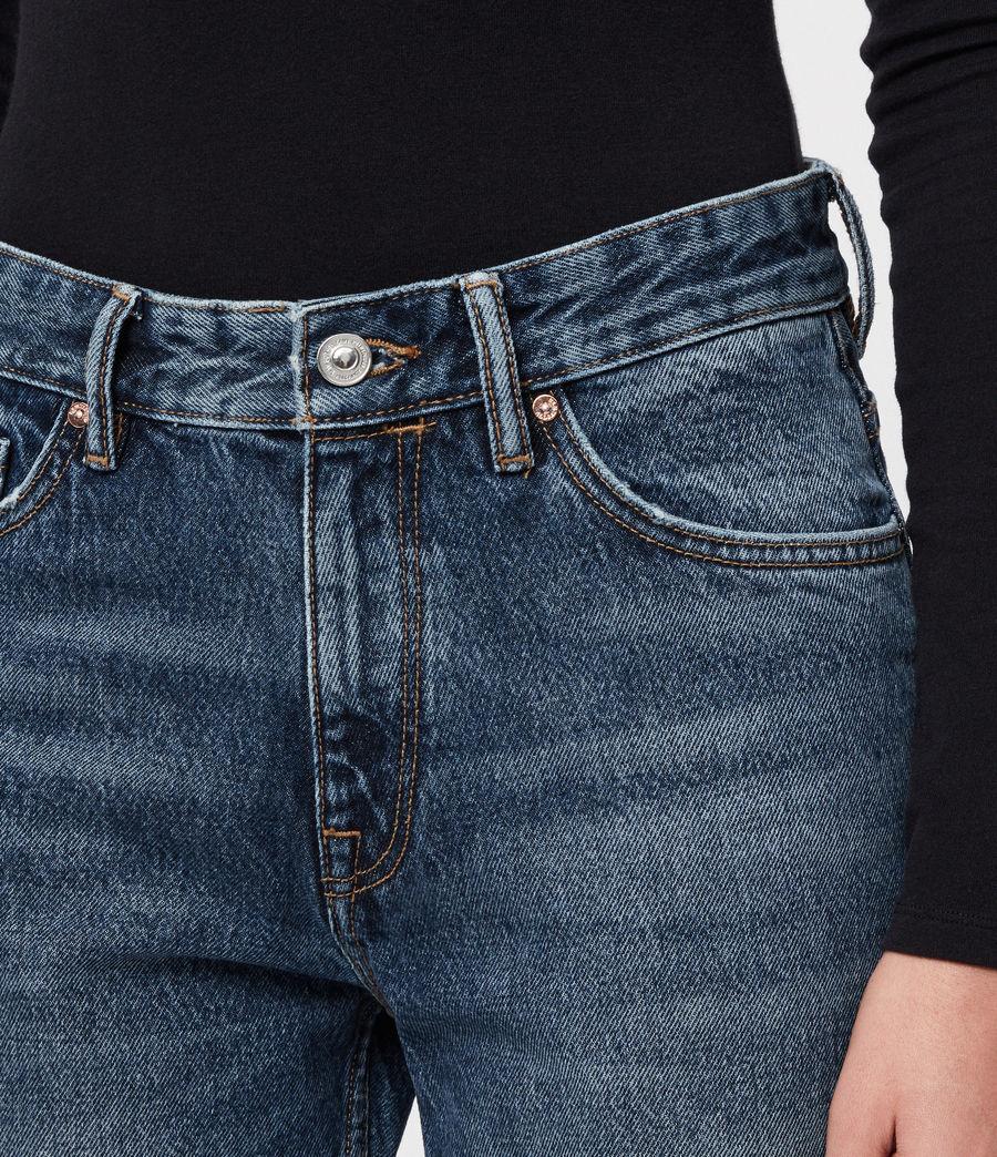 Womens Ava Straight Jeans (vintage_indigo_blu) - Image 2