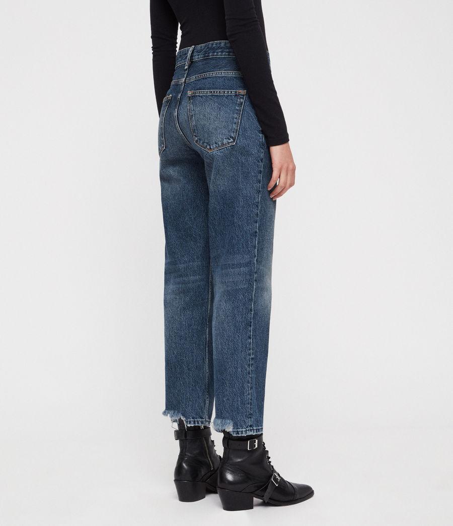 Womens Ava Straight Jeans (vintage_indigo_blu) - Image 3