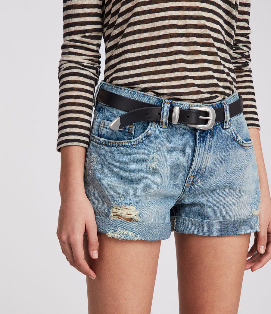Damen Pam Jeans-Shorts (indigo_blue) - Image 2