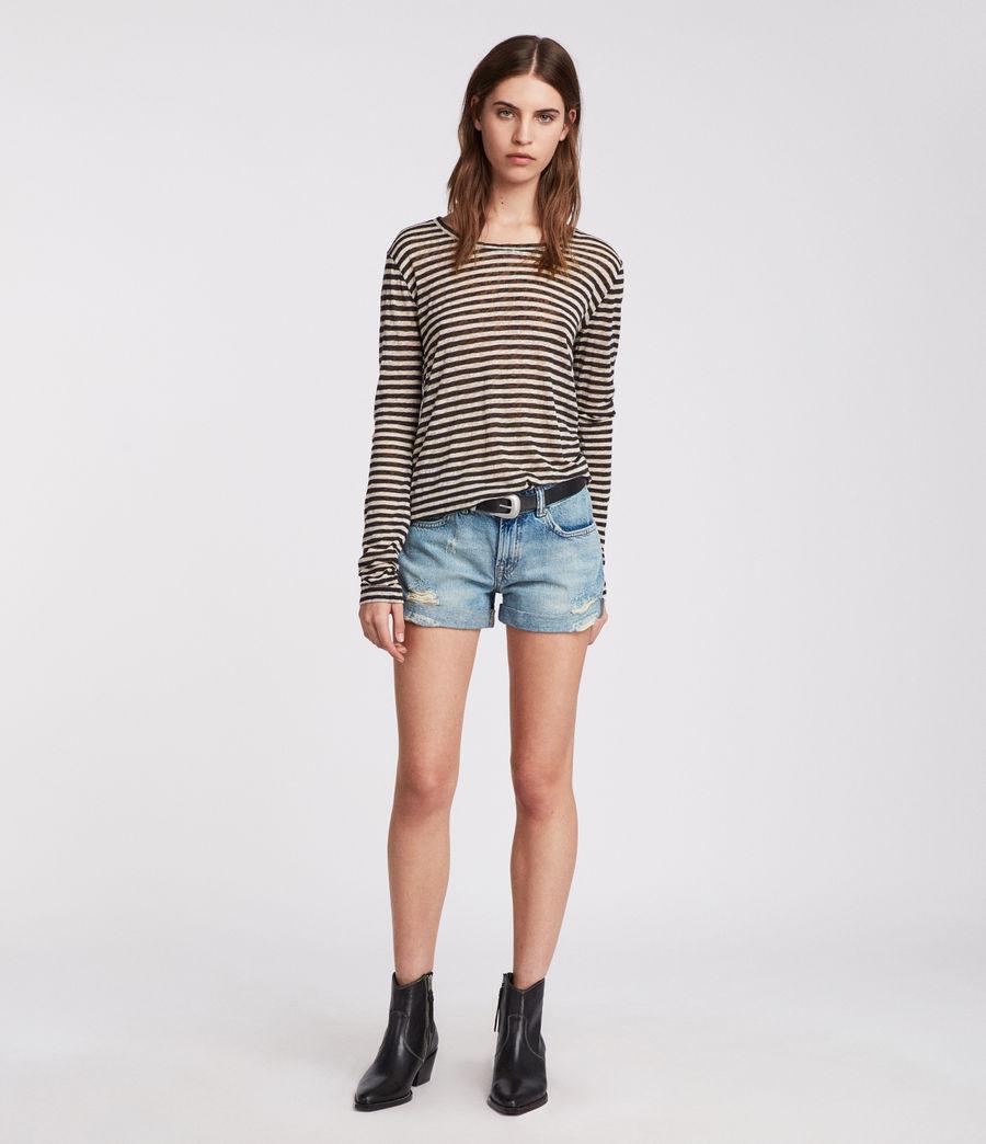 Damen Pam Jeans-Shorts (indigo_blue) - Image 3
