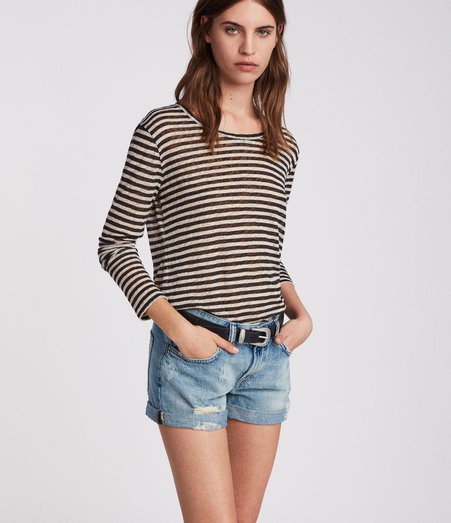Damen Pam Jeans-Shorts (indigo_blue) - Image 4