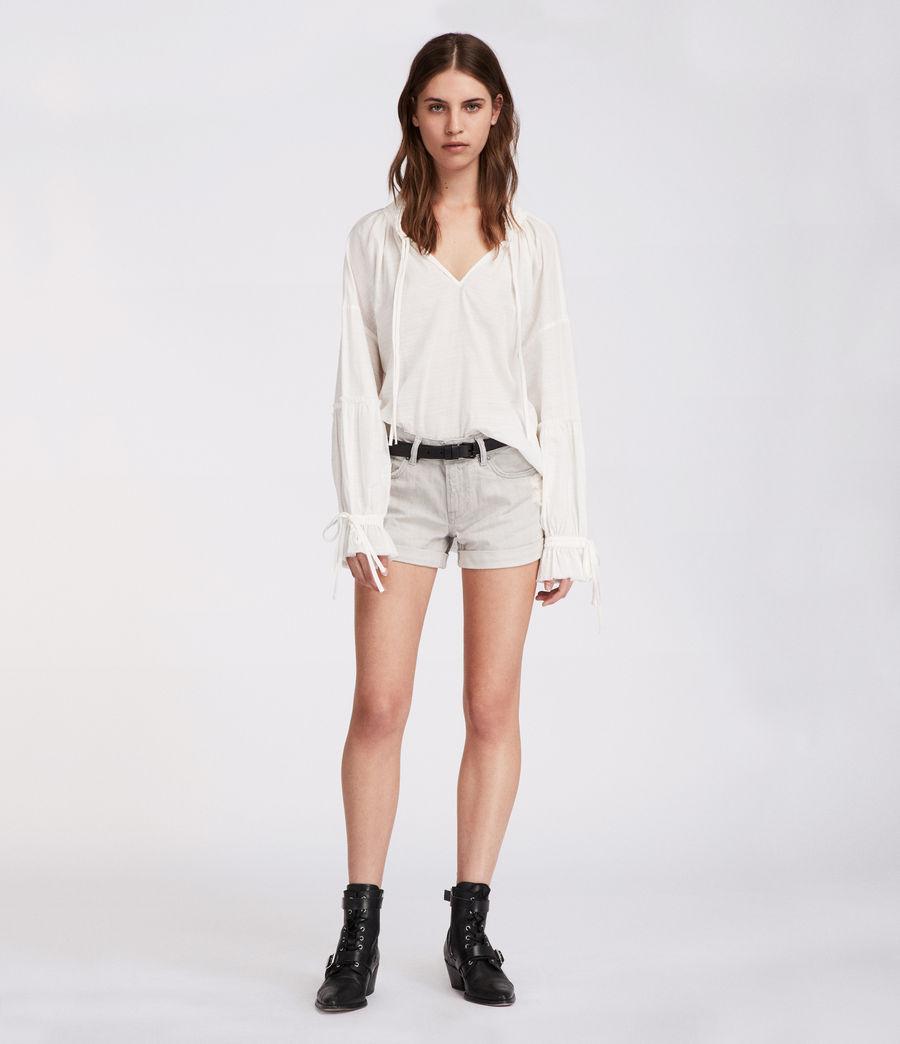 Mujer Shorts Pam (light_grey) - Image 1