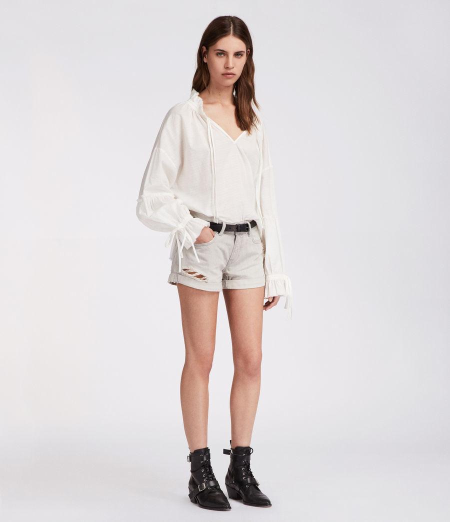 Mujer Shorts Pam (light_grey) - Image 3