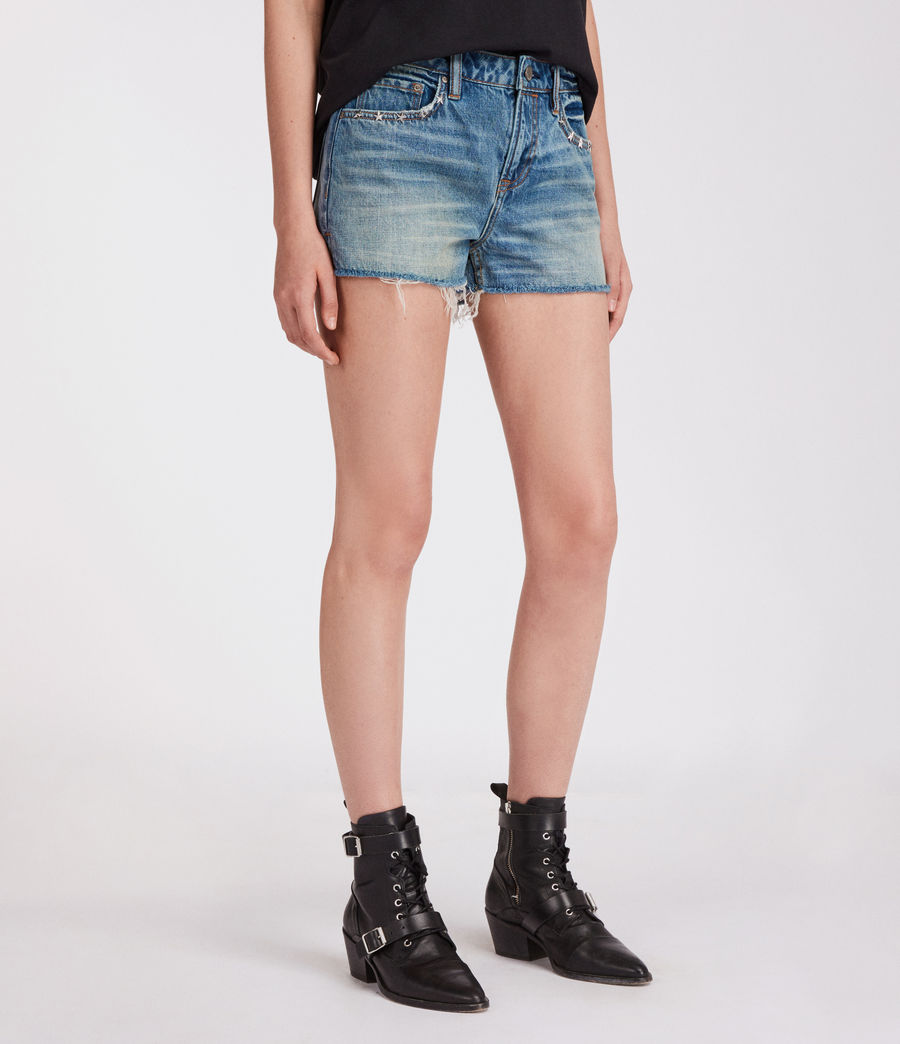 Mujer Shorts Star (mid_indigo_blue) - Image 2