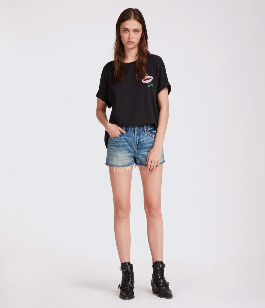 Mujer Shorts Star (mid_indigo_blue) - Image 3