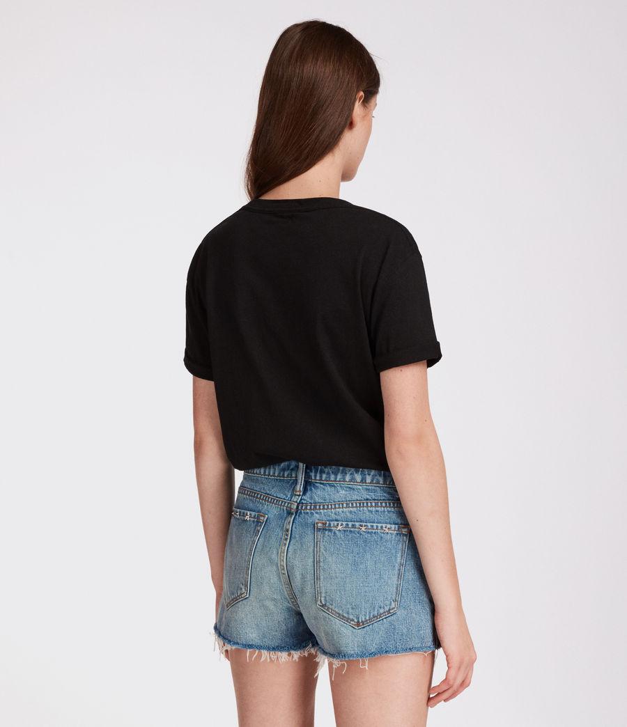 Mujer Shorts Star (mid_indigo_blue) - Image 4