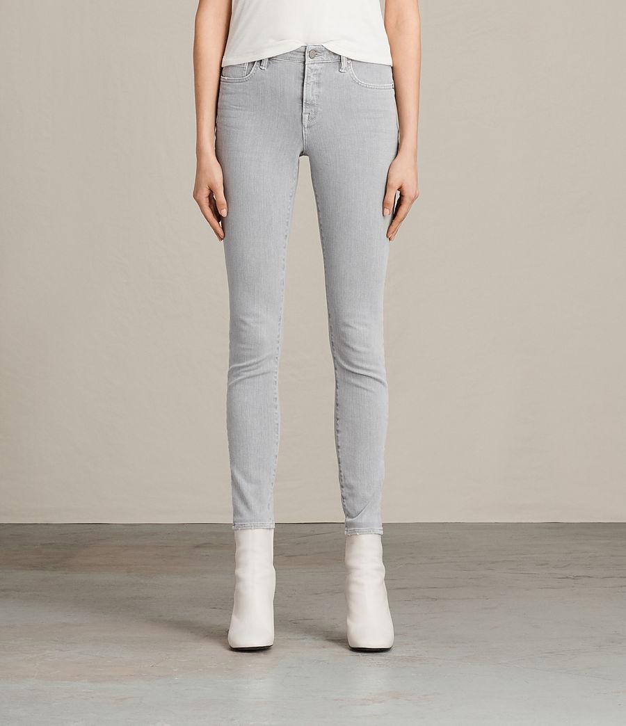 Womens Jewel Jeans (light_grey) - Image 1