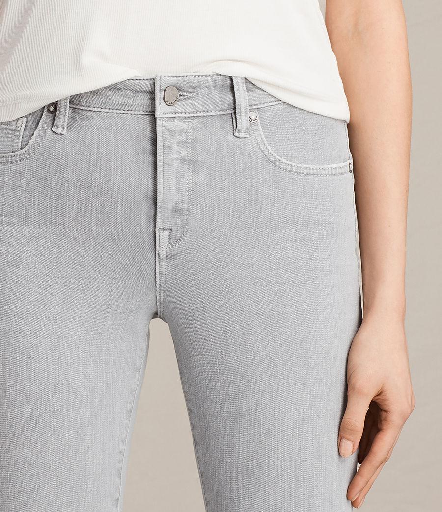 Womens Jewel Jeans (light_grey) - Image 2