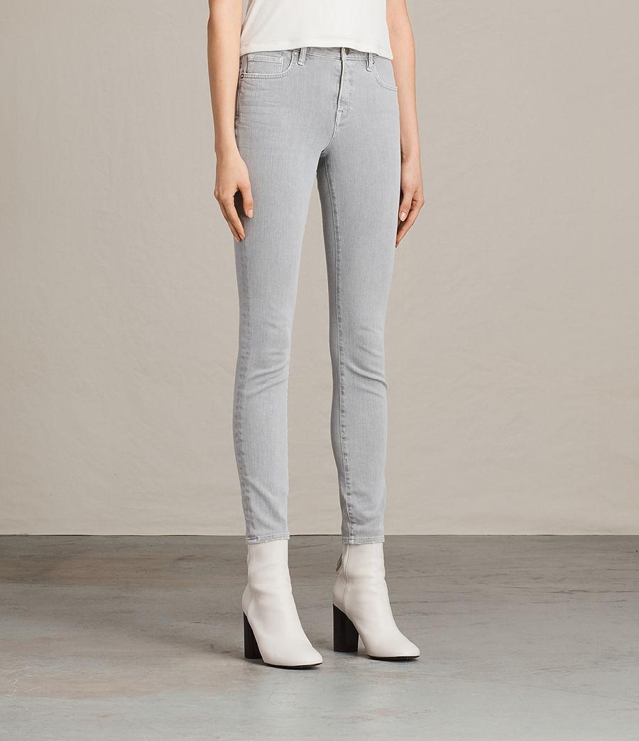 Womens Jewel Jeans (light_grey) - Image 3