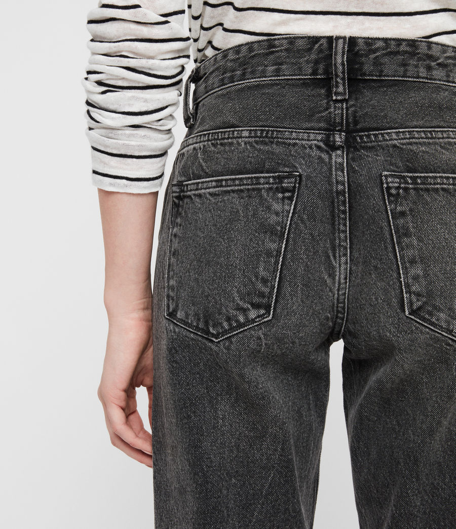 Women's Ava Straight Jeans (vintage_black) - Image 2
