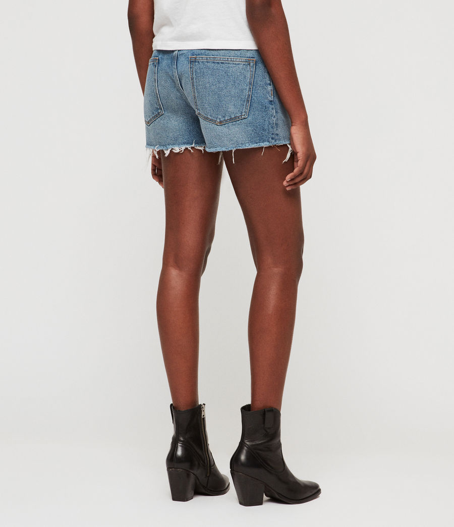 Womens Lexi High-Rise Denim Shorts (light_indigo_blue) - Image 6