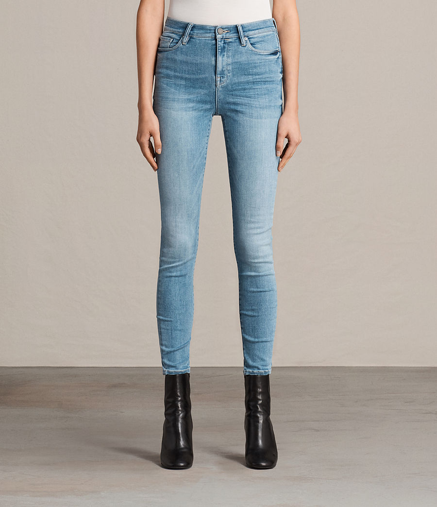 Womens Eve Lux Jeans (fresh_blue) - Image 1
