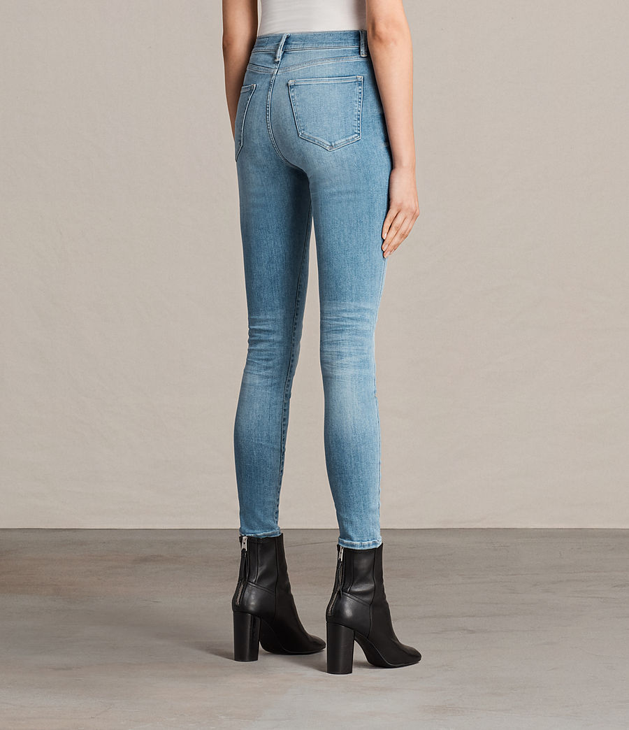 Womens Eve Lux Jeans (fresh_blue) - Image 2