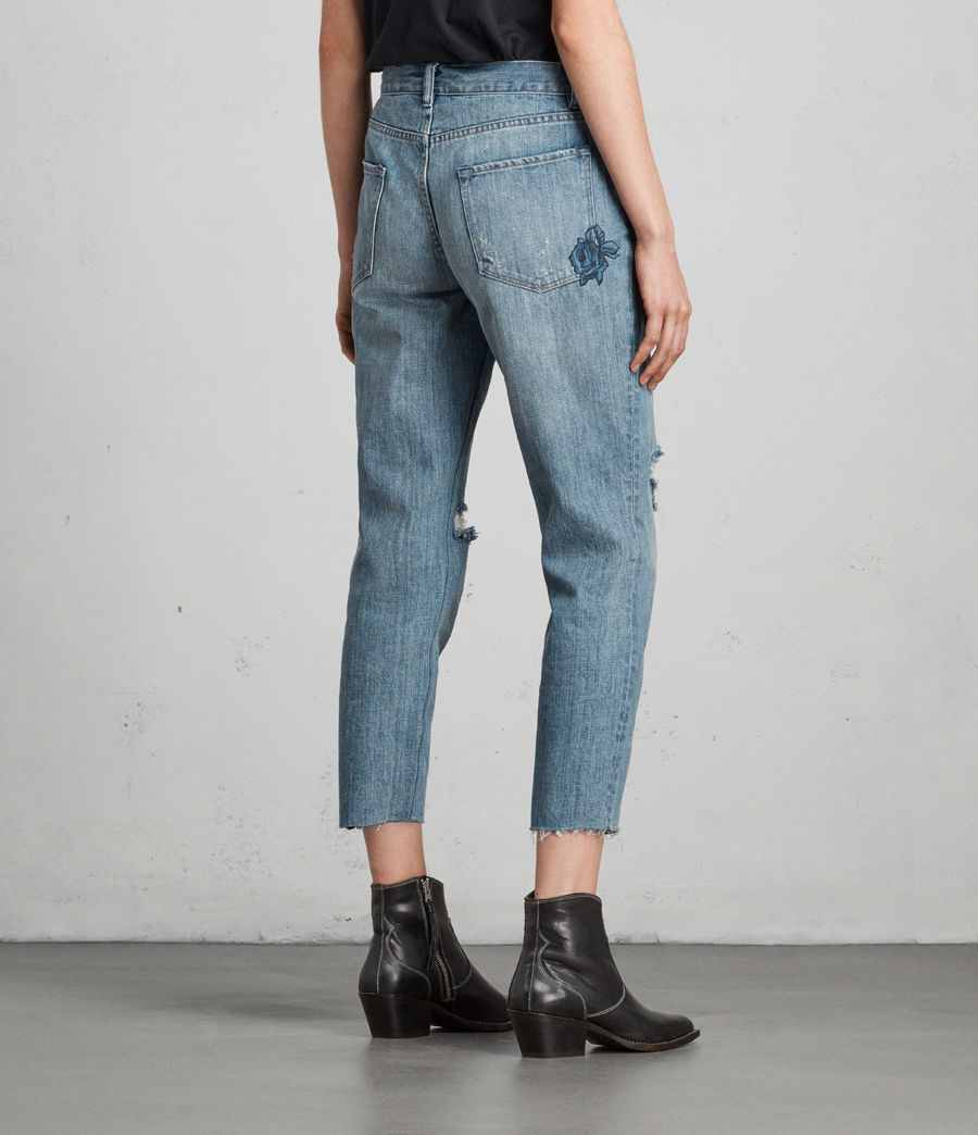 Damen Rose Boys Jeans (indigo_blue) - Image 5