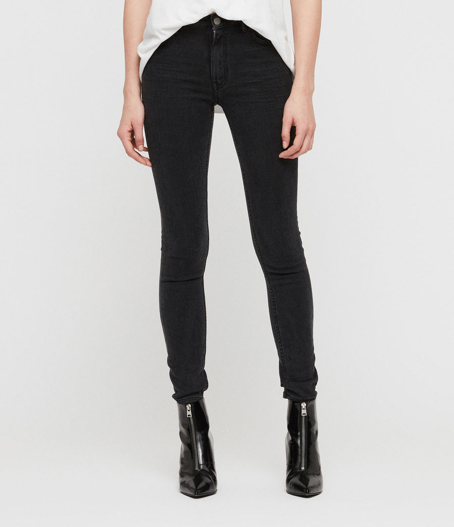 Donne Jeans Stilt (dark_grey) - Image 1