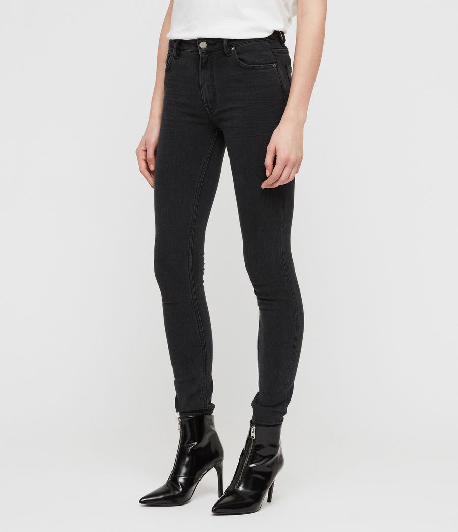 Donne Jeans Stilt (dark_grey) - Image 4