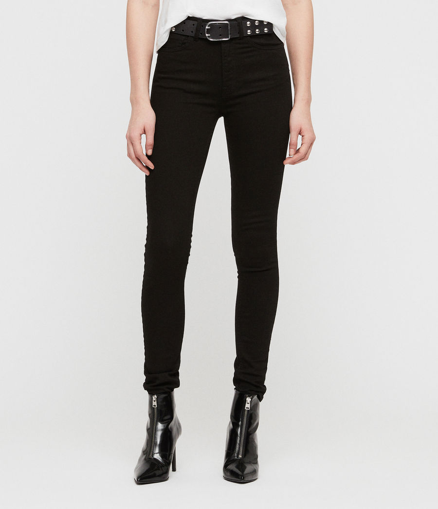 Donne Jeans Stilt (jet_black) - Image 1