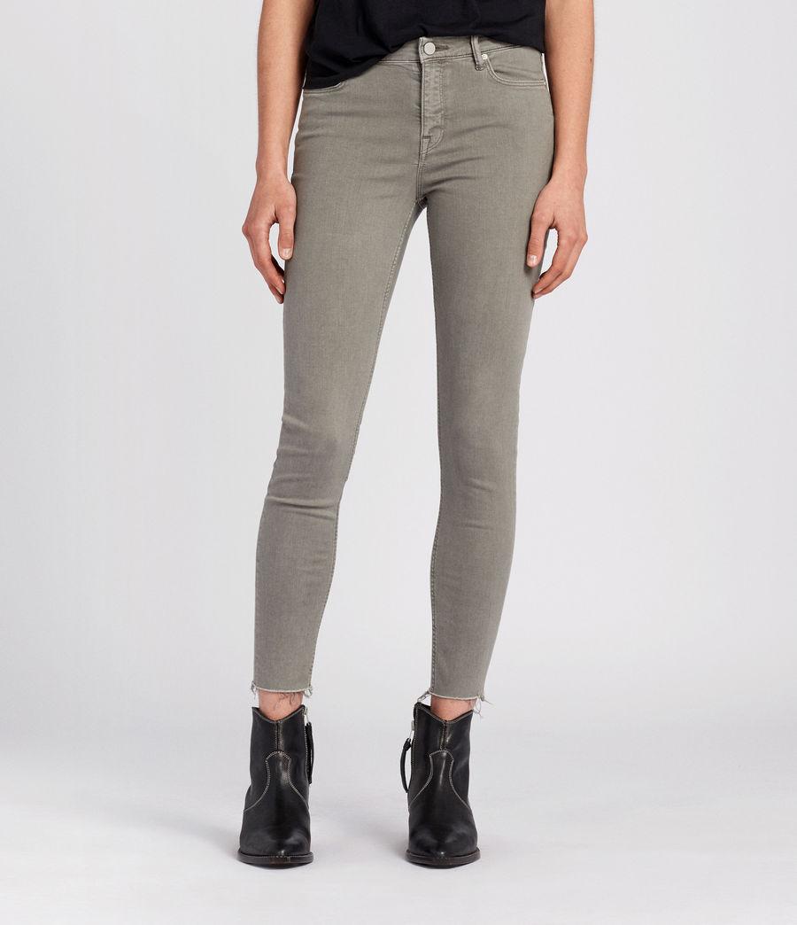 Damen Grace Skinny Jeans (gunmetal) - Image 1