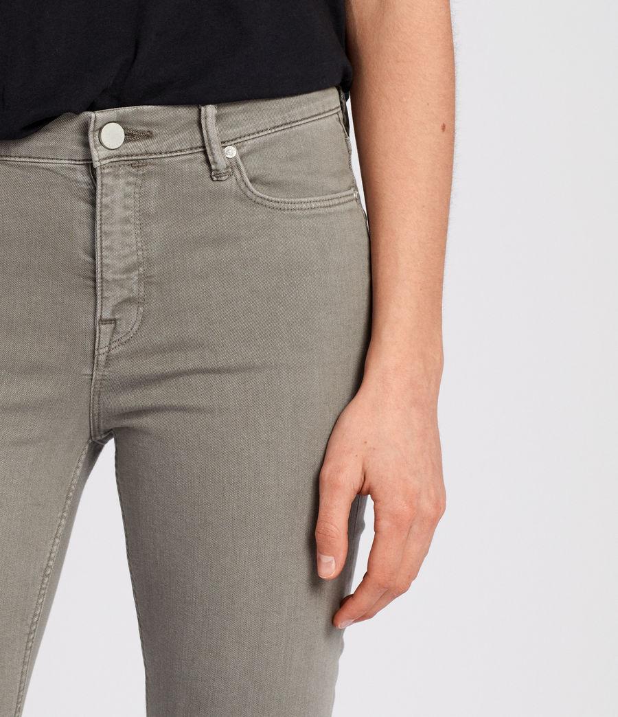 Damen Grace Skinny Jeans (gunmetal) - Image 2