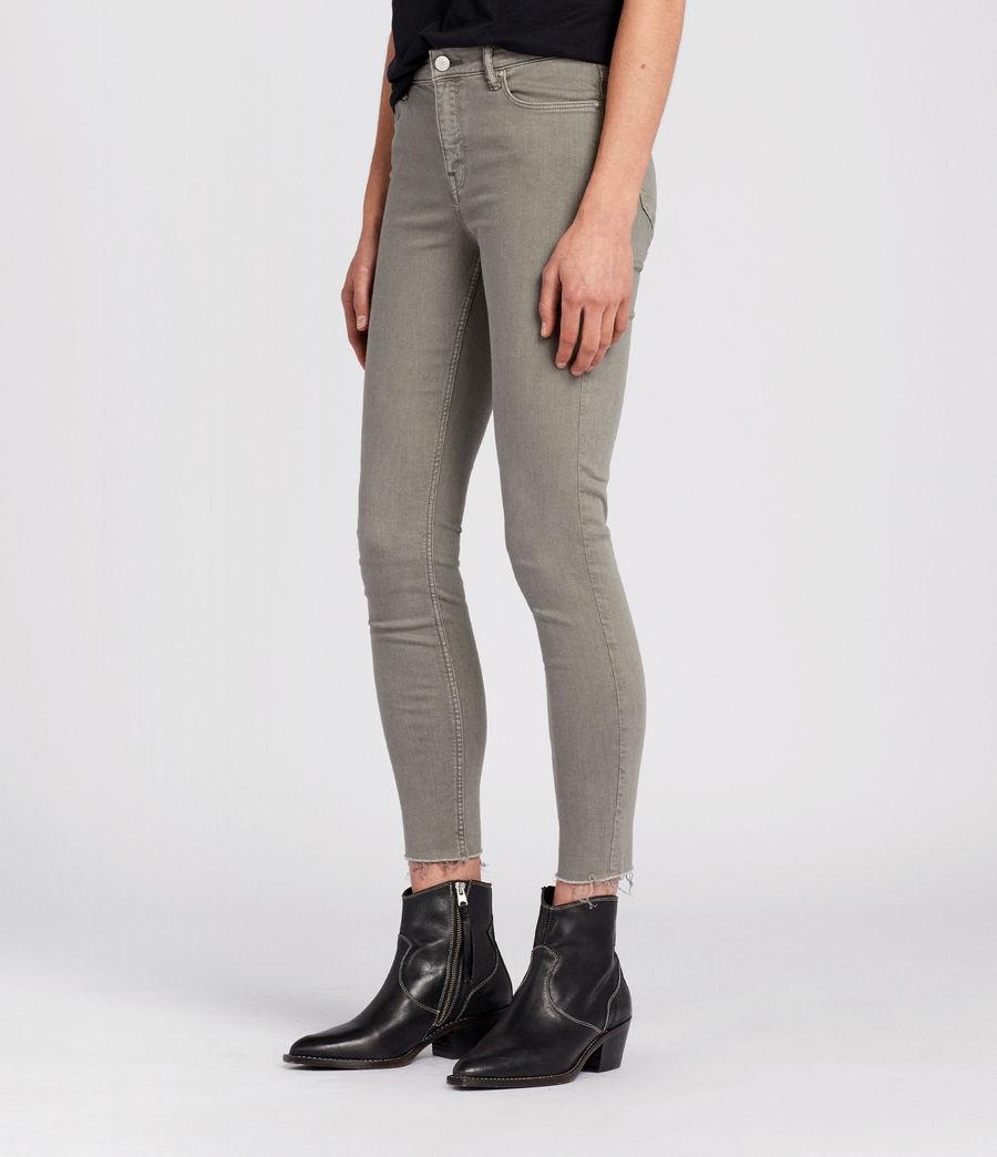 Damen Grace Skinny Jeans (gunmetal) - Image 3