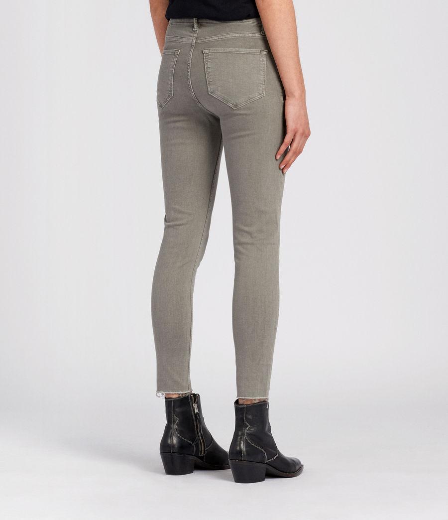 Damen Grace Skinny Jeans (gunmetal) - Image 4