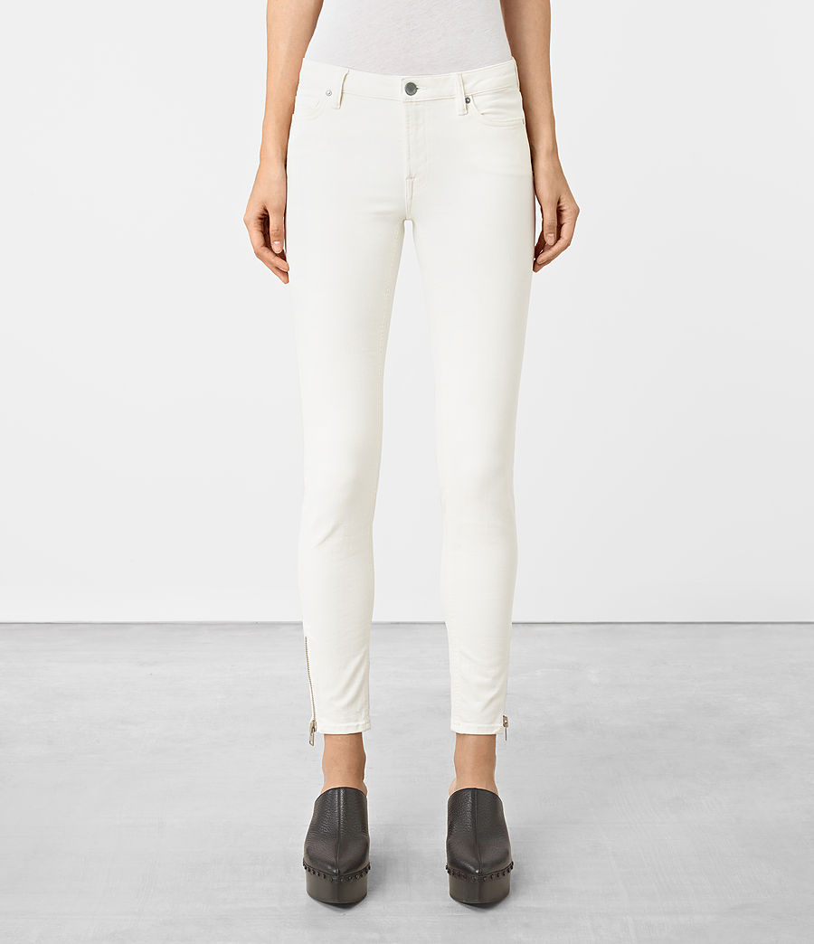 Womens White Jeans Uk