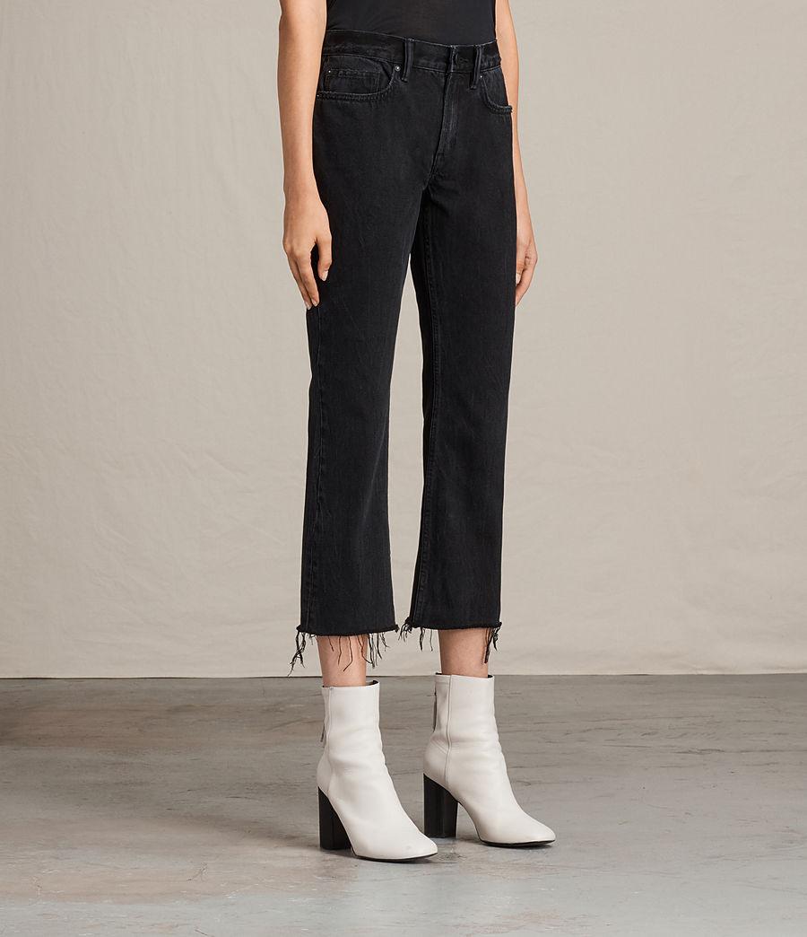 Donne Jeans Serene Cropped Kick (washed_black) - Image 4