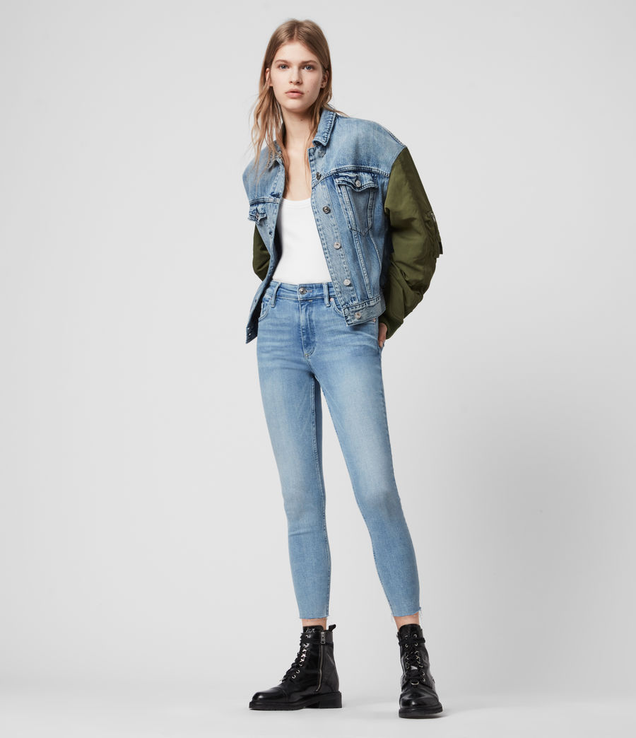 Damen Dax Jeans (light_indigo_blue) - Image 1